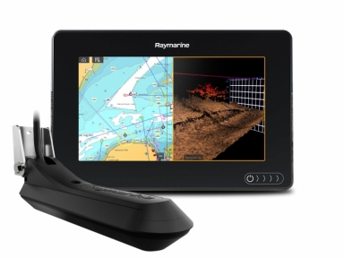 Raymarine AXIOM  RV, Multi-function  Display with RealVision 3D, 600W Sonar with RV-100 transducer
